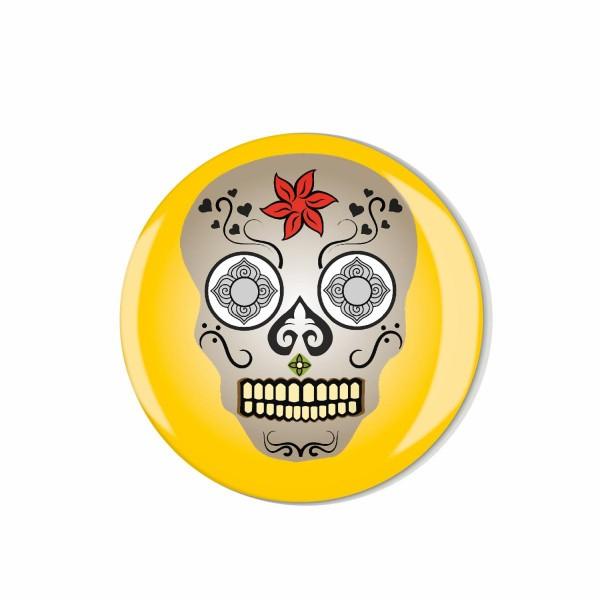 Whiteboard Kühlschrank Magnet ML015 M03316 Totenkopf Schädel Skull Gothic Motiv