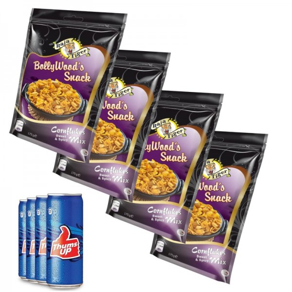 BollyWood's Movie Knabber Pack 2 - Cornflakes & Coke